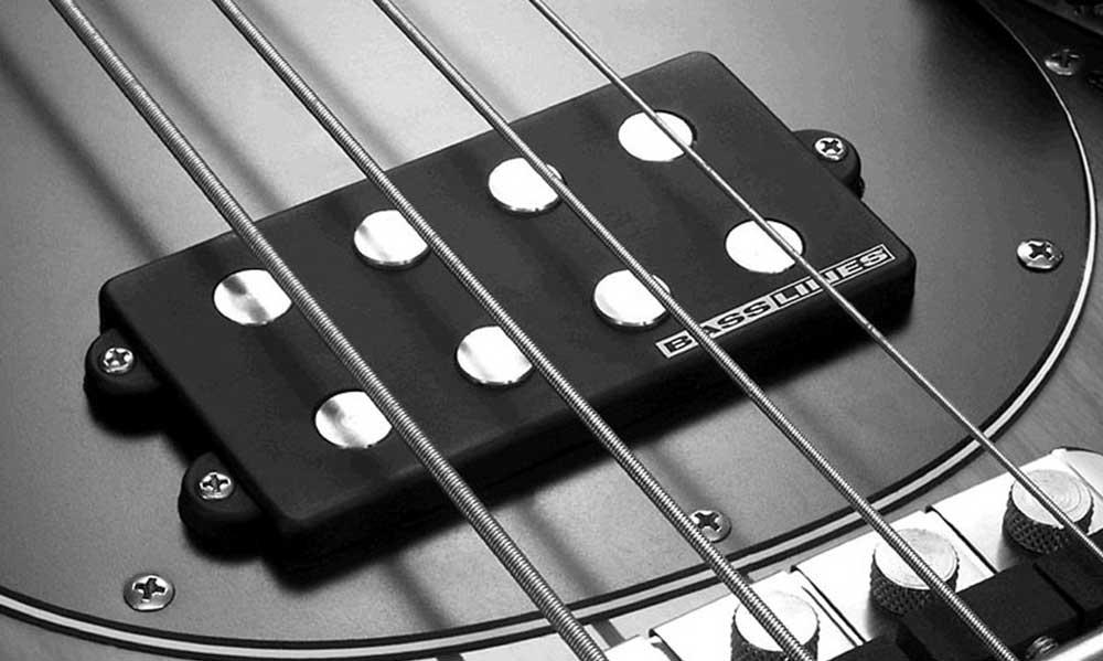 Pick up pada bass senar empat | Foto: Seymour Duncan