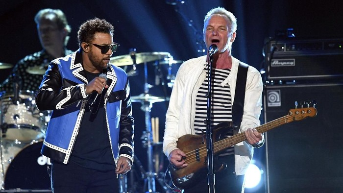 Shaggy dan Sting   Gambar: Kevin Winter/Getty Images for NARAS