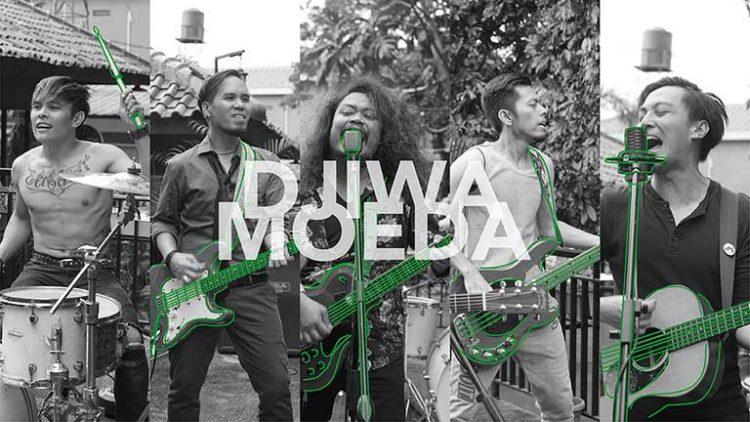 Drive feat Pusakata - Djiwa Moeda Artwork