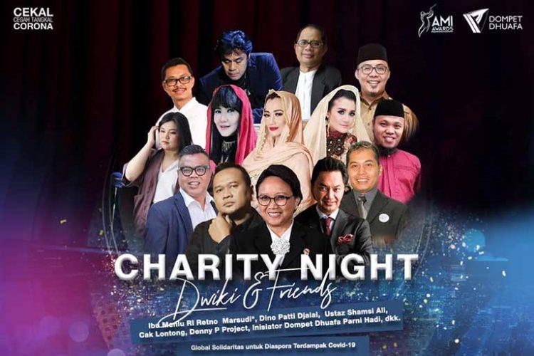 Charity Night Dwiki Dharmawan - Facebook/Dompet Dhuafa