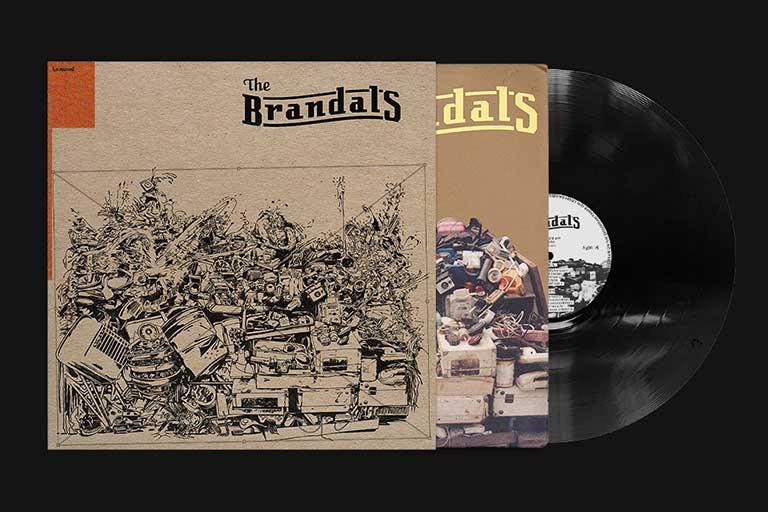 Rilisan Vinyl The Brandals - Lamunai Records