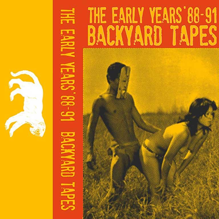 The Early Years 88-91 Backyard Tapes Artwork - Agan Harahap dan Ahamad Rizzali